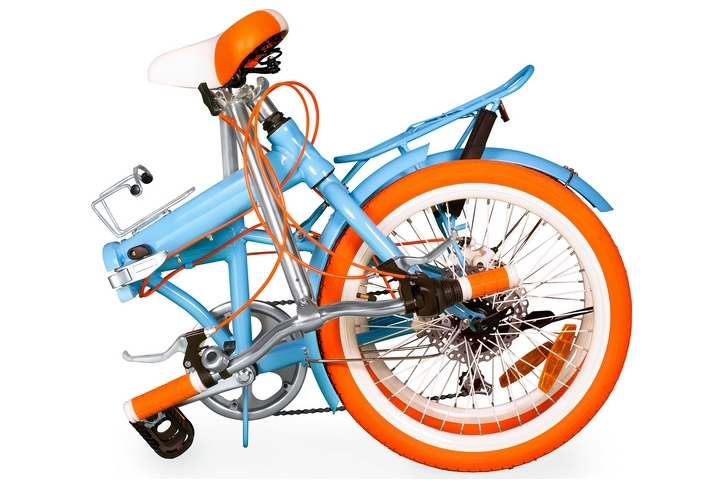 Folding bicycles are the types of bicycles that can be folded easily and loaded into the trunk of your car.
